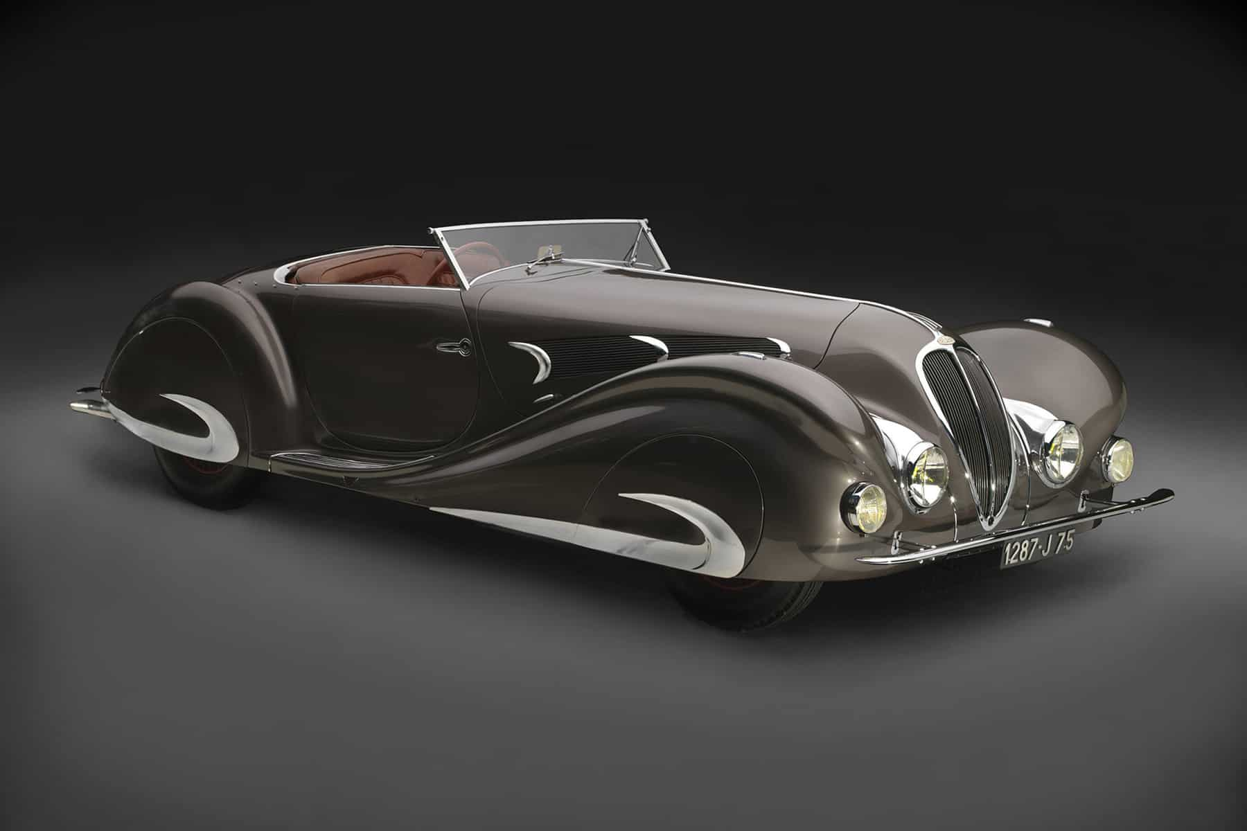"""1937 Delahaye Type 135 Competition Court Roadster - """"A Paris Gown on Wheels"""""""